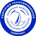 EMCI certified yachtbrokerage company
